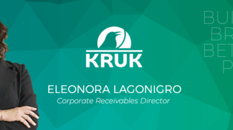 KRUK Italia amplia la propria linea di business con l'ingresso di Eleonora Lagonigro quale Corporate Receivables Director